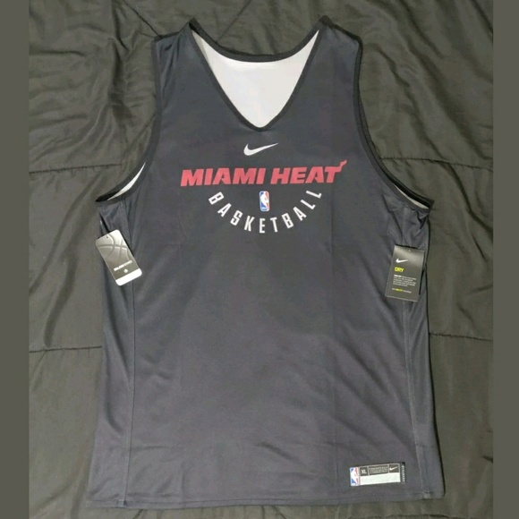 best website c93b2 156a2 Nike NBA Miami Heat Player Training Vest NWT